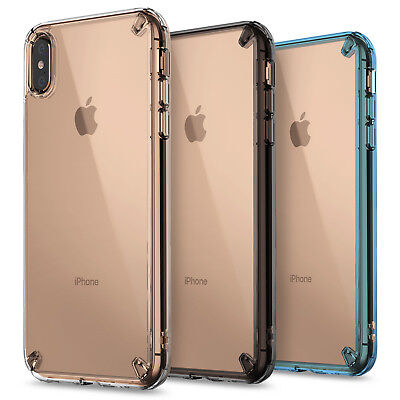 For iPhone XS Max XR Case  Ringke FUSION Clear Shockproof Protective Cover