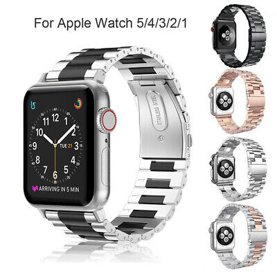 For Apple Watch Series 5 Series 4 44mm 42mm Stainless Steel Band Strap Bracelet