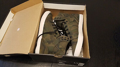Supra Skytop Shoes Camouflage - White 13 Preowned Good Condition