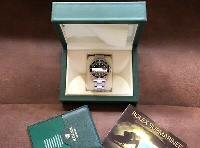 1994 Rolex Submariner 16610 MINT  FREE shipping -RELISTED  1000 Less