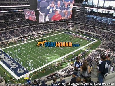 2 Dallas Cowboys Tickets  Vs- Detroit Lions September 30th 2018  Tix Home Game