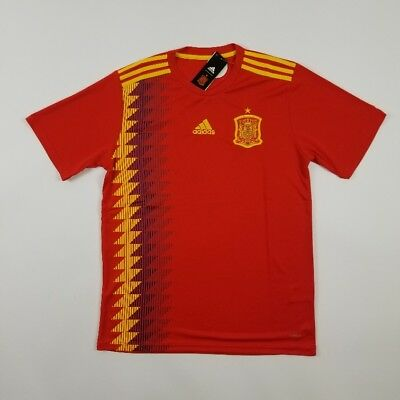 2018 Spain World Cup Jersey Red