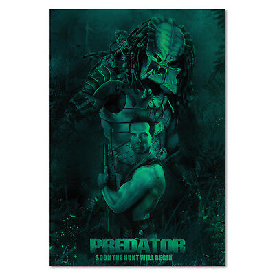 Predator 1987 Movie Poster - Arnold Schwarzenegger - High Quality Prints