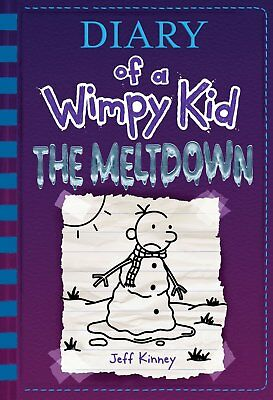 The Meltdown Diary of a Wimpy Kid by Jeff Kinney Hardcover  NEW