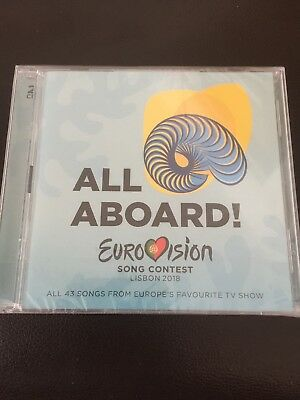 Eurovision Song Contest Lisbon 2018 CD x2 NEW - SEALED FREE UK POST