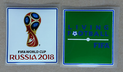 FIFA 2018 WORLD CUP IRON ON JERSEY PLAYER SLEEVE PATCHES LIVING FOOTBALL