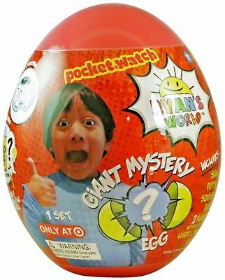 NEW Ryans World Giant Mystery Egg Surprise Slime Toy Review  Red Or Yellow