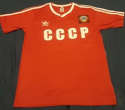 CCCP SOVIET UNION USSR WORLD CUP 1986  SOCCER FOOTBALL SHIRT XL
