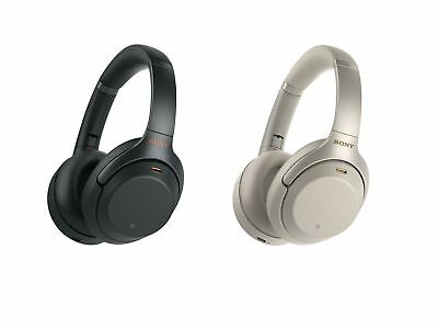 Sony WH-1000XM3 Wireless Noise Canceling Over-Ear Headphones w Google Assistant
