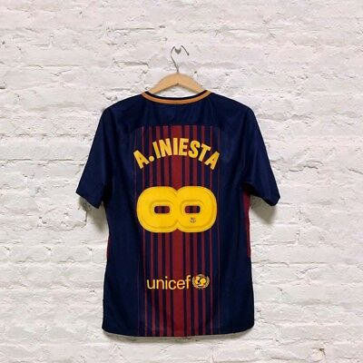 Infinit Iniesta-Special Edition Jersey name set for FC Barcelona stadium jerseys