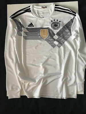 Adidas Germany World Cup Jersey Long Sleeve Mens Medium