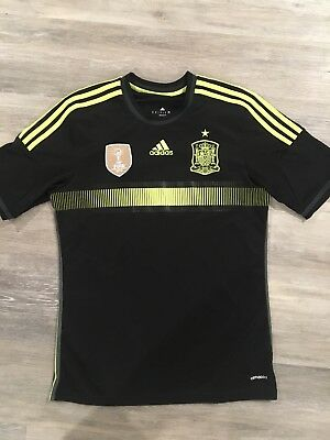 Spain World Cup 2014 Adidas Away Jersey Size Medium