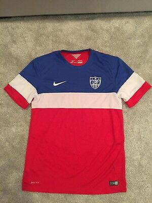 USA Nike Soccer Jersey FIFA World Cup 2014 Edition Size M