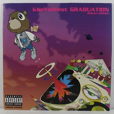 Kanye West - Graduation 2LP Limited Edition Purple Color Wax Vinyl Record