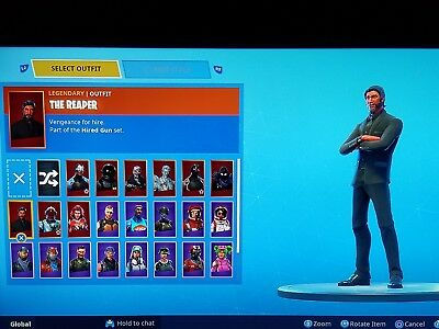 Fortnite Account season 3l PS4