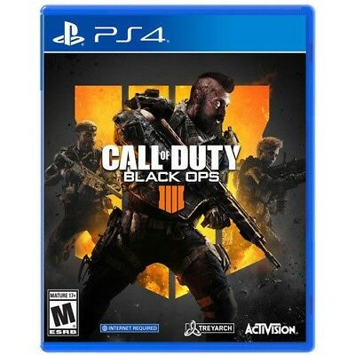 Call of Duty Black Ops 4 Sony PlayStation 4 BRAND NEW