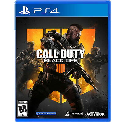 Call of Duty Black Ops 4 PS4 Factory Refurbished