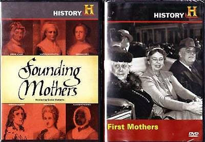 Founding Mothers  First Mothers  The History Channel Mothers Day 2 Pack