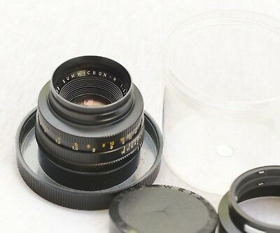 Leica Summicron-R 50mm f/2 lens Made in Germany