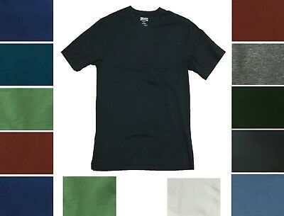 Duluth Trading Mens Longtail T Shirt Short Sleeve Cotton V Neck Pocket Tee
