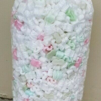 13-5 GALLONS OF UNICORN POO USED POPCORN PACKING PEANUTS  FAST FREE SHIPPING