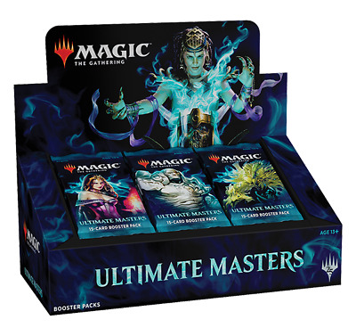MTG Magic the Gathering Ultimate Masters Booster Box wUltimate Box Topper Dec 7