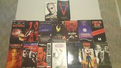 Lot Of 16 VHS Sci Fi and suspense Movies- Species II Westworld Alien -More