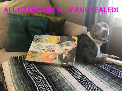 Monopoly for Millennials NEW IN BOX by Hasbro SHIP SAME DAY