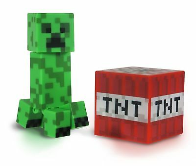 - NEW - Minecraft Series 1 Overworld Creeper Action Figure Pack FREE SHIPPING