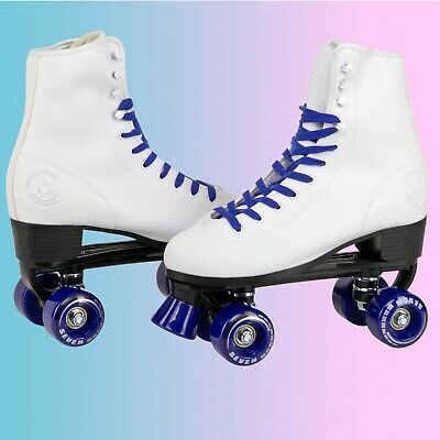 C7skates Soft Faux Leather Roller Skates Christmas Gifts for Girls
