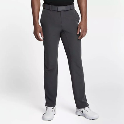 Mens Nike Flex Hybrid Standard Fit Golf Pants 921751-017 Gray