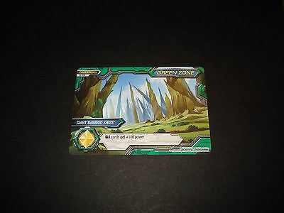 BANDAI DIGIMON CARD S2-034 GIANT BAMBOO SHOOT-GREEN ZONE-GREAT CONDITION-FUSION