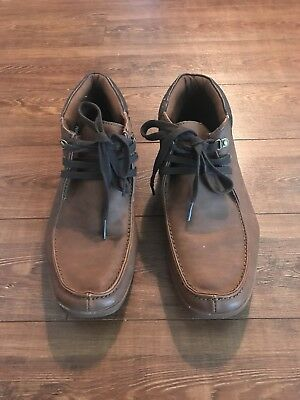 ALDO Ankle Boots Whiskey Brown Leather 42 Men 9 M