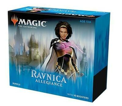 MTG Magic The Gathering Ravnica Allegiance Bundle Fat Pack 10 Boosters