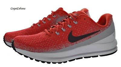 Nike Mens Air Zoom Vomero 13 Red - Grey Training Shoes Size 11 New