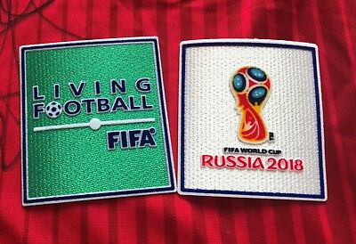 Set 2018 FIFA World Cup Football Soccer Iron On Embroidered Patch Badge Jersey