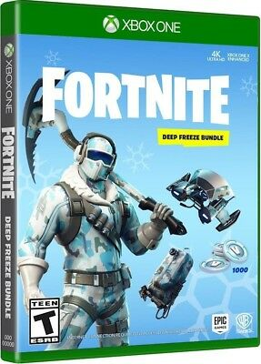 XBOX Battle Royale Fortnite 1000 V-Bucks - Epic Frostbite Skin - Deep Freeze Set