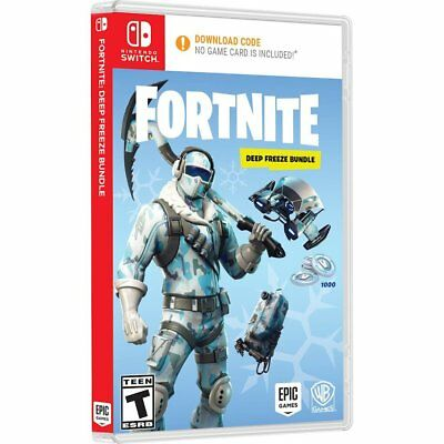 Nintendo Switch Battle Royale Fortnite 1000 V-Bucks - Frostbite Cosmetic Set