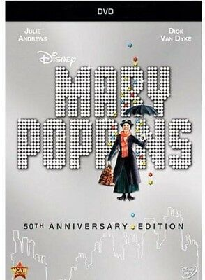 🔥Mary Poppins 50th Anniversary New DVD Anniversary Edition 🔥