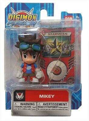 Digimon - Fusion 2 Action Figure - MIKEY - New in Package -  B10-DFFM