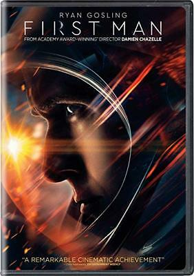 FIRST MAN BRAND NEW FACTORY SEALED DVD 2019 Ryan Gosling PRE SALE - Ships 122