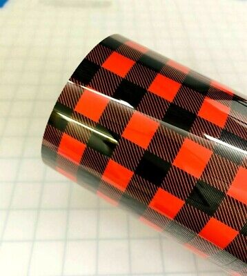 12 x 15 Buffalo PlaidLumberjack HTV Heat Transfer Vinyl for T Shirt Crafts