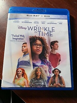 Wrinkle in Time A Blu-ray ONLY 2018 USED Disney-
