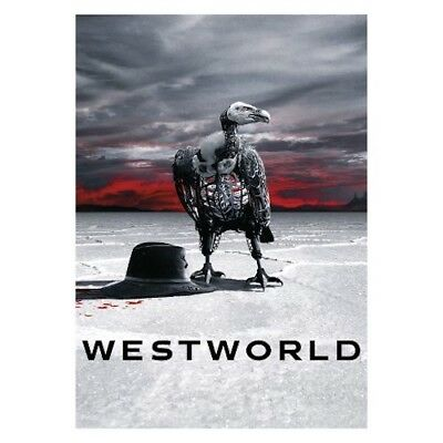 Westworld The Second Season 2 Two DVD 2018 3-Disc Set New - Sealed Free Ship