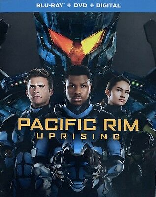 PACIFIC RIM  UPRISING  Blu-Ray - DVD - Digital New Factory Sealed