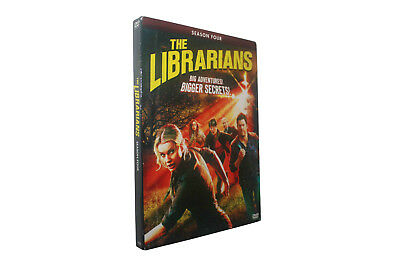 The Librarians Season 4 DVD 3-Disc Set Free Shipping