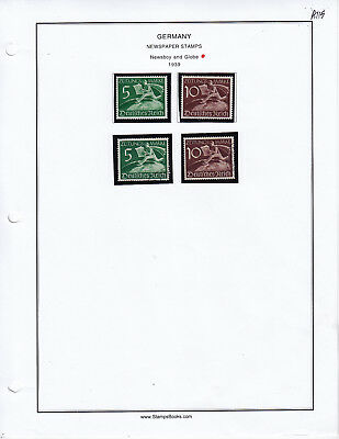 Germany Newspaper Mint - Used Stamp Lot From Collection A115