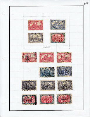 Germany Stamp Lot From Album Collection A122