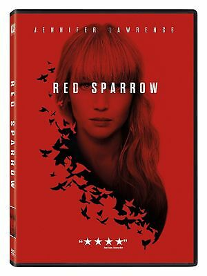 Red Sparrow DVD 2018 BRAND NEW Jennifer Lawrence FREE SHIPPING