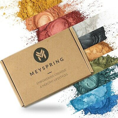 MEYSPRING 2Tone Collection Mica Powder Set - Epoxy Resin Color Pigment Resin Dye